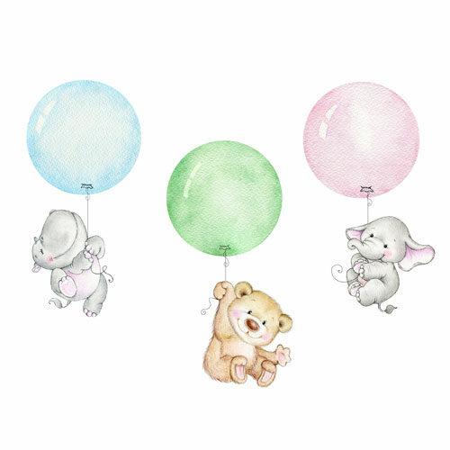 vykort ballonger