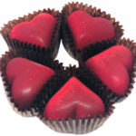 Röda choklad praliner 99kr